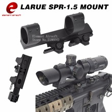 Element Airsoft LaRue SPR-1.5 QD MOUNT For 30mm Diameter Scopes Picatinny Flashlight Mount Picatinny Adapter EX033(China)