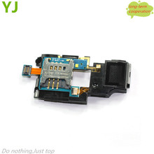 OEM SIM Card Tray and Loud Speaker Module Part Flex Cable for Samsung I8700 Omnia 7