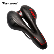 WEST BIKING Bicycle Saddle Skidproof Seat Silica Gel Cushion Breathable Sillin Bicicleta MTB Road Bike Cycling Bicycle Saddle