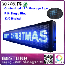 32*288 pixel led moving text led sign p10 indoor led advertising scrolling message sign electronic scoreboard open sign led diy