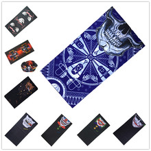 Skull hell Tiger Motorcycle Tube Scarf Headwear Skull Face Shield Outdoor Magic Seamless Bandana Multifunctional Headwear