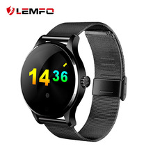 K88H MTK2502 Bluetooth Smart Watch with Heart Rate Monitor for Android IOS Phone(China)