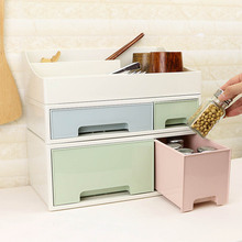 Desktop Storage Box Drawer Creative DIY Free Combination Desktop File Finishing Cabinet Cosmetic Storage Box
