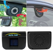 CATUO car ventilation fan Solar Sun Power Car Window Fan Auto Ventilator Cooler Air Vehicle Radiator vent With Rubber Stripping*