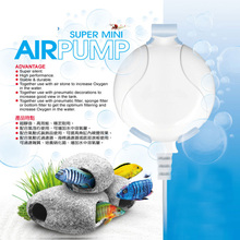 Quiet Silent Mini Nano Air Pump with Air Tube and Air Stone for Aquarium Fish Water Plant Tank(China)