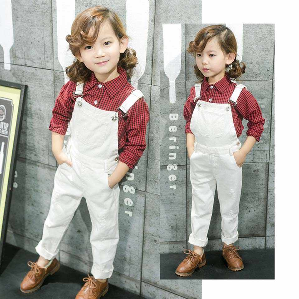 93e69f15978 Baby Boys Girl Overalls New Cotton Dungarees Romper Pants Summer Children  Clothes Infant Girl Boy Children s