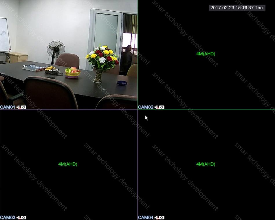 Smar Super CCTV HD 25601440 4MP AHD Camera Outdoor Waterproof Security Video Surveillance Camera 4 IR Array Infrared Metal Case (6)