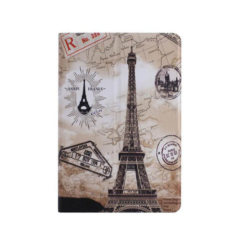 Drop shippingSimpleStone  Eiffel Tower Stand Flip Leather Case Cover For iPad Mini 1 2 3 Retina May30 mosunx<br><br>Aliexpress