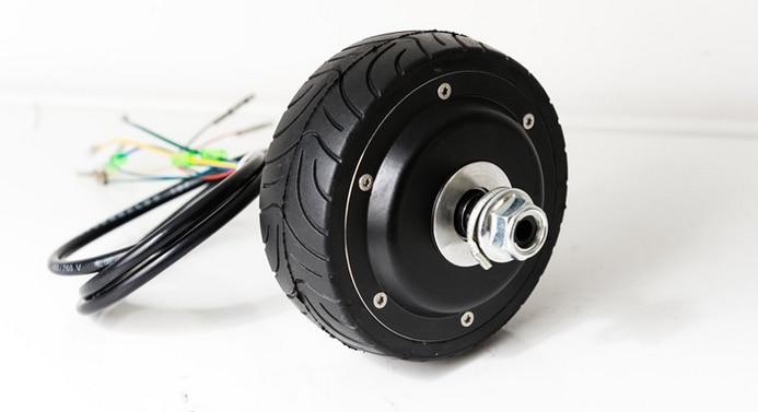 4inches hall sensor hub motor ebs enable