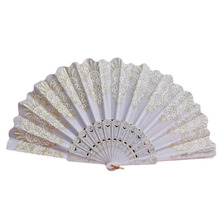 2017 Sale Special Offer Favors And Gifts Decorations Kids Spanish Style Lace Folding Hand Held Flower Fan For Dance Party
