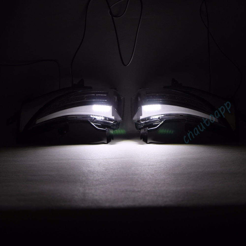nissan Rearview Mirror LED Light 6