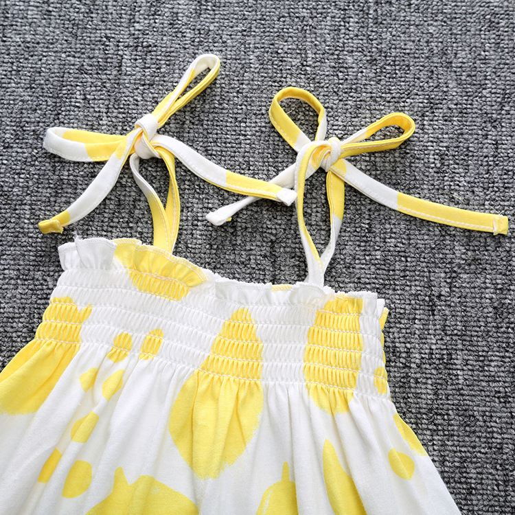 2017 Summer Girls Dress With Graffiti Top Fashion Party And Wedding Princess Kids Toddler Dresses Children Clothing