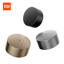 Original Xiaomi Bluetooth Speaker Micro-SD Aux-in Handsfree Call Stereo Portable Bluetooth 4.0 Aluminum Frame Speaker