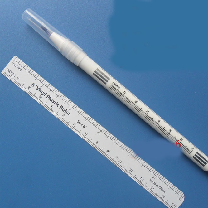 1mm Medical sterile skin marker acupuncture pen positioning pin point pen double head free shipping(China)
