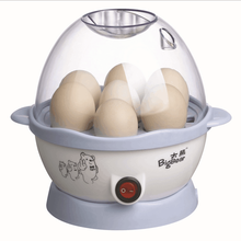 220V Multifunction Electric Egg Boiler Steamed Buns Corn Steamer Electric Egg Cooker Automatic Shut-off 7 Eggs Large Capacity