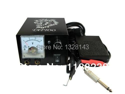 Professional Seasonal Iron Hull Appearance Digital LCD Tattoo Power Supplier Kit for tattoo machine gun kit  free shipping<br>
