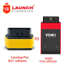 Launch X431 Easydiag plus 2.0 Diagnostic Tool Easy diag plus Update Online/VDM2 Free Software update free for Android/IOS 2in1(China)