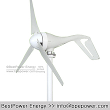 FREE Shipping, 3 Blades 400W 24V Low Start-up Wind Turbine Generator for Home Wind Generator Kits