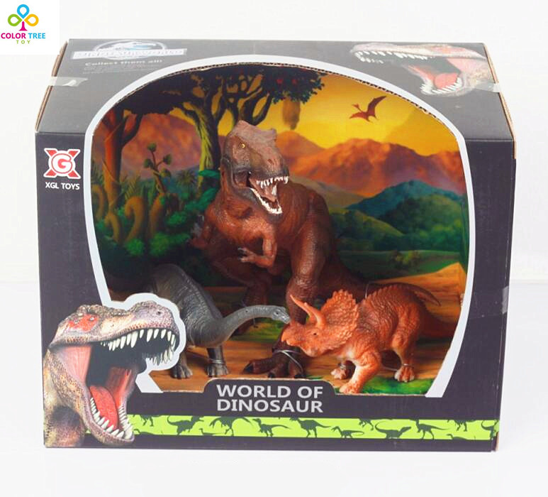 Hot sale Jurassic Park PVC T-Rex Plastic Dinosaurs Action Toys Model Figures Prehistoric Dinosaurs Toys For Kids Gifts<br><br>Aliexpress