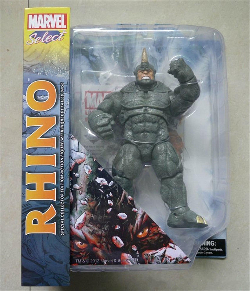 Marvel Select The Amazing Spider-Man 2 Rhino Action Figure Toy 923cm N22<br><br>Aliexpress
