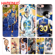 HAMEINUO Stephen Curry cell phone Cover case for iphone 6 4 4s 5 5s SE 5c 6 6s 7 8 X plus(China)