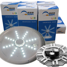 LED Retrofit CFL Ceiling Light Lamps, Compact Package LED Ring PANEL WITH LED driver Circle Light SMD 5730(China)