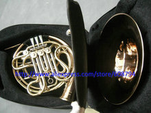 NEW China Brand CTE 4 key double French Horn Golden Separated from the body with case Free shipping From China