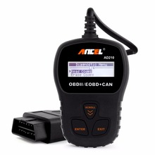 2017 OBD2 Handheld Automotive Scanner ANCEL AD210 OBD2 EOBD CAN Code Reader Diagnstic-tool fit Russian Diagnostic Scanner AD210