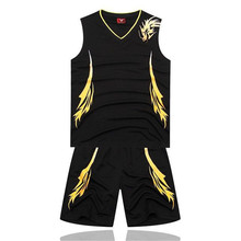 Asia Size Quick dry man Basketball uniforms sports suits any pattern print jersey training customized free shipping 1006