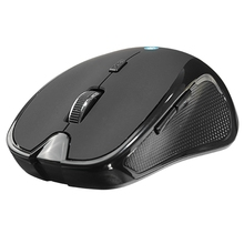 Optical Wireless Mouse Bluetooth Mouse V3.0 1600DPI 6 Buttons Ergonomic Computer Mice Gamer For Laptop PC Home Office Game(China)