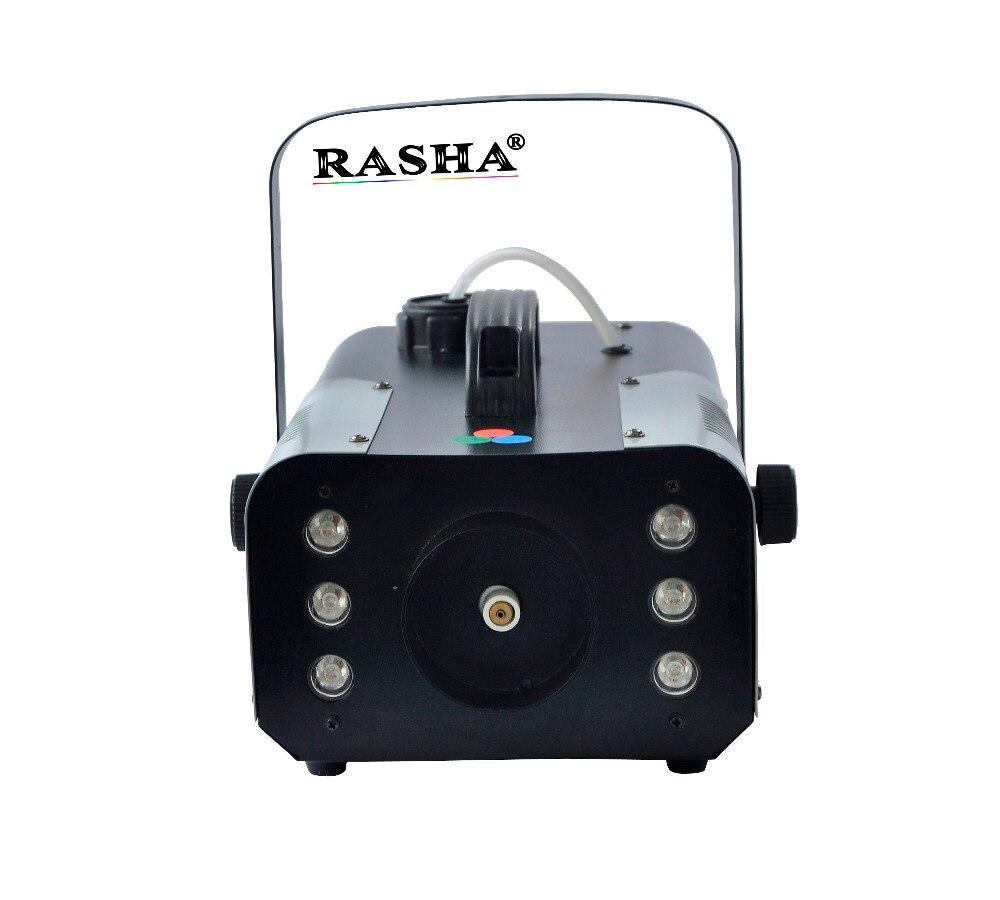 Rasha 6pcs*3W RGB 900W LED Fog Machine,LED Smoke Machine For Wedding Effects Event Party,DJ Club<br><br>Aliexpress