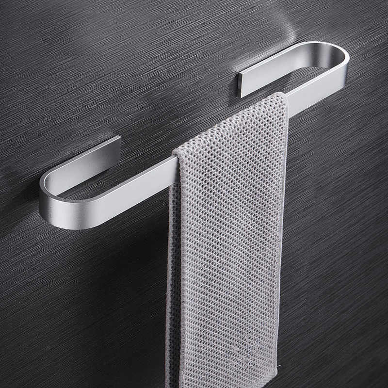 Waterproof Not Rust Punch-free Household Towel Rack Holder for Home Kitchen Bathroom