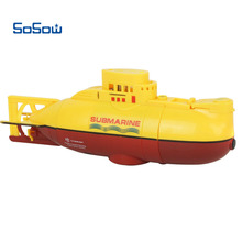 RC Submarine 6CH Speedboat Model High Powered Boat Remote Control Boat Kids Toys(China)
