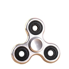 2017 New Fashion 5 Colors Aluminum hand finger spinner At Least 2 minutes Spinning Time spinners Stress Toy Hand Spinner Toys