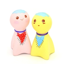 Fun Squishy Jumbo 14CM Japan Style Sunny Doll Phone Straps Accessories Slow Rising Kids Toys Birthday