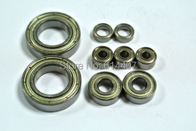Supply HIGH QUALITY Modle car bearing sets bearing kit LITESPEED ENGINEERING AREA 51E SIDEWINDER DRAGSTER Free Shipping