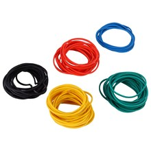 100x Tattoo Machine Rubber Band Elastic Cord Tool FTH Colorful Tattoo Bands Kits Tattoo Accesories Supplier Tattoo Rubber Bands(China)