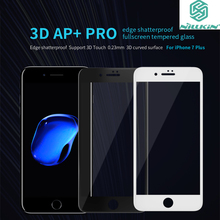 For iPhone 7 Plus 3D Touch Tempered Glass Original Nillkin AP+ Pro Anti Scratch Oleophobic Coating Shatterproof Full Screen Film