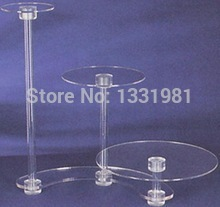 Exquisite 3 tier acrylic square cake stand 3 Tier Ruffles Square Acrylic wedding cupcake stand