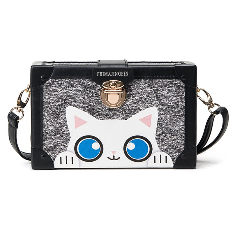 Cute Women Clutch Case Box Bag Fashion Brand Designer Teenager Girl Messenger Bags Female 2017 Cute Phone Small Crossbody Bags(China (Mainland))