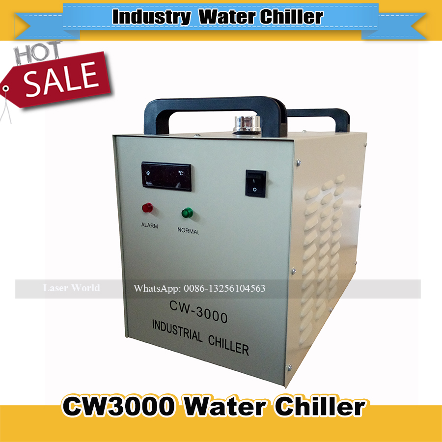 CW3000 Water Chiller Industry Chiller for CO2 Laser Engraving Cutting Machine Cooling 50W 60W 80W Laser Tube(China)