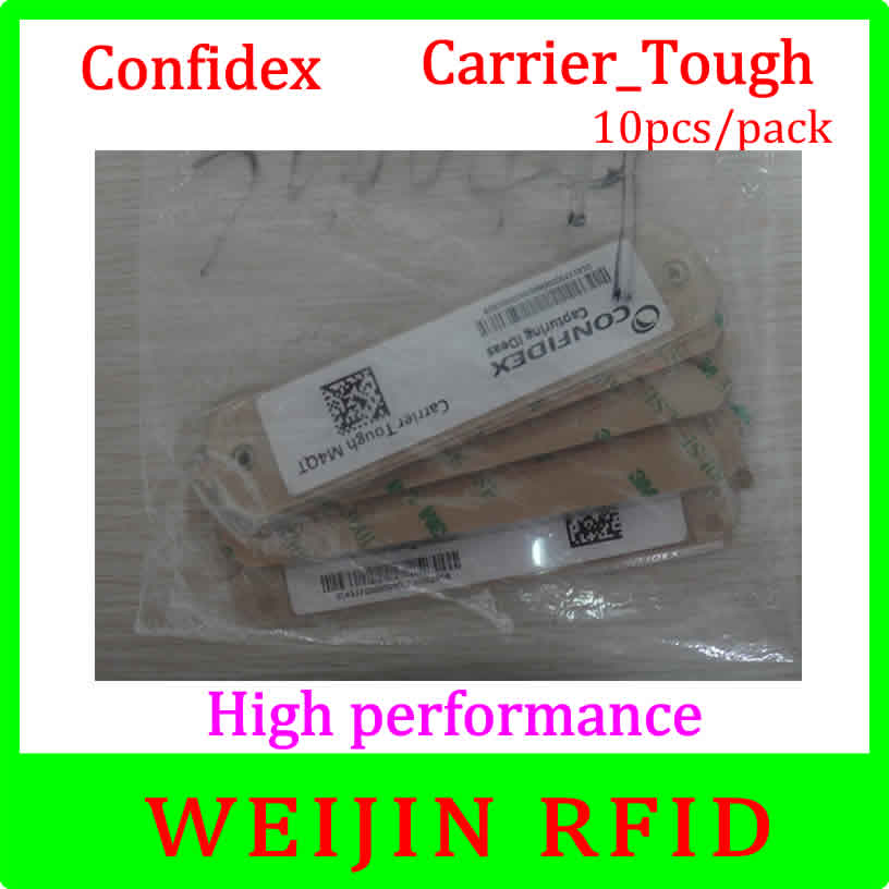 Confidex carrier Tough 10pcs per pack UHF RFID tag 860-960MHZ 915M EPC C1G2 ISO18000-6C free shipping<br>