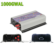 1000W grid tie inverter with dump load for 3phase AC wined turbine 22-60/45-90V,MPPT pure sine wave wind grid tie inverter