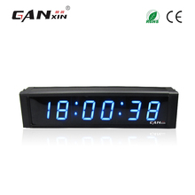 [Ganxin]1'' 6 Digits Led Digital Mini Travel Alarm Clock Made in China