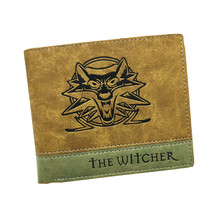 Hot Game Wallet OW / The Witcher / Sword Art Online Soft PU Leather Men Wallets With Cion Pocket for Young