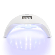 SUN5 UV LED Nail Lamp 48W Gel Fast Curing Low Heat Mode Nail Dryer for Fingernail & Toenail Nail Tool Drying Machine US/EU Plug