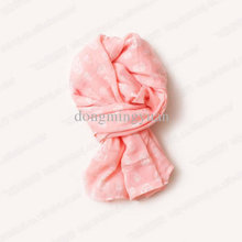 Autumn/Winter Baby Gril's Skull Scarves Kids Cute Candy Colors Big Flowers Cotton Yarn Scarf Children Fashion Warm Shawl