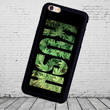 Popular KUSH pot weed cellphone  Phone Cases Accessories For iPhone 6 6S Plus 7 7 Plus 5 5S 5C SE 4S Soft Rubber Cover Shell