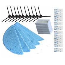 10*side Brush+5*hepa Filter+5*Mop Cloth+10*magic paste ilife v5s ilife v5 pro ilife x5 V50 V5 V3 v5pro vacuum cleaner parts