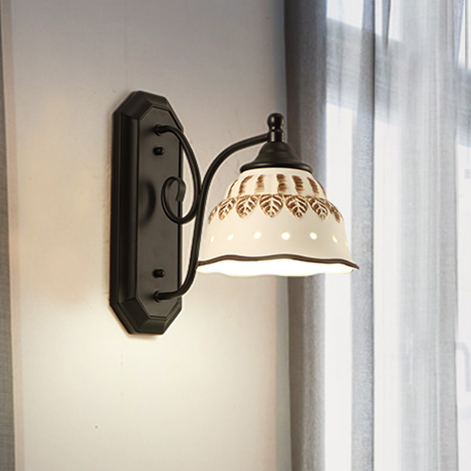 Modern LED Wall Lamps American Ceramic Wall Lights Fixture Home Indoor Lighting Restaurant Dining Room Bed Room Hotel Light<br><br>Aliexpress